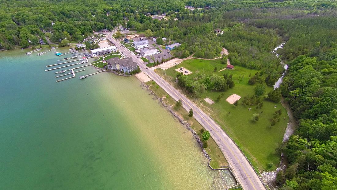 Flowing Water - Walloon Lake Michigan Wanderings